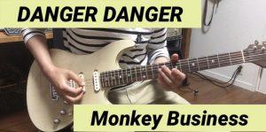 弾いてみた動画をiMovieで作成してみた_Danger Danger Monkey Business