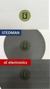 STEDMAN vs sE electronics_ポップガードのメッシュサイズ