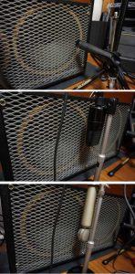 ギターアンプのマイク録りセットアップ