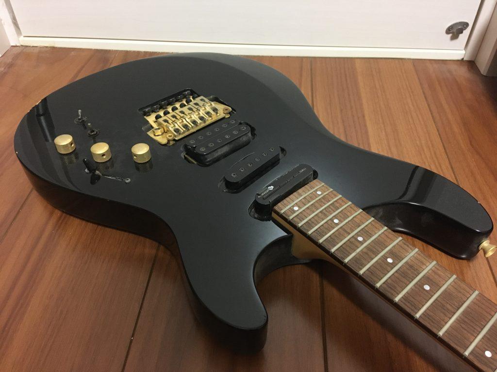 サスティナー搭載ギター