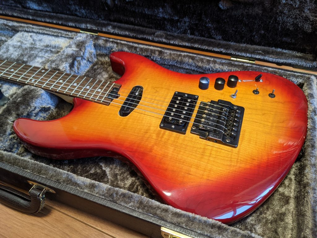 ニコイチ改造ギター1