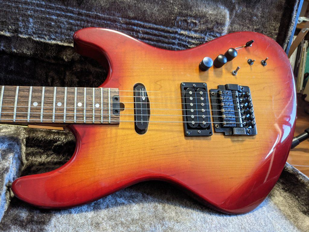 ニコイチ改造ギター2